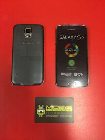 SAMSUNG GALAXY S5 SIM FREE COMES WITH CHARGER AND 3 MONTHS WARRANTY*** FREE DELIVERY LOCALLY***