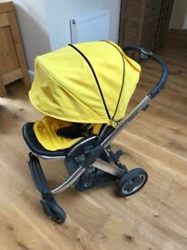 Oyster Pram with raincover & net