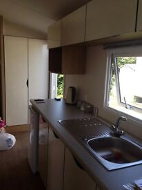 New luxury caravan at Flamingo-land Malton