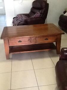 Recycled timber coffee table Bracken Ridge Brisbane North East Preview