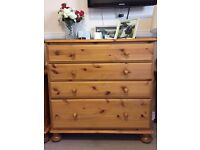 Pine furniture set (by Ducal) - Wardrobe, Chest of Drawers & Side Table (40x sets available)