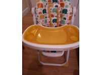 Mamia High Chair Immaculate condition