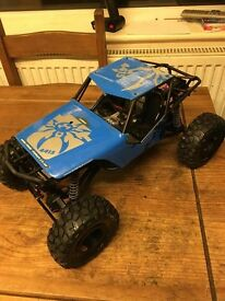 rc axial spyder poison rock crawler boxed rtr