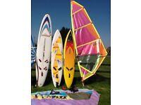 Windsurfing boards/sails/accessories for sale