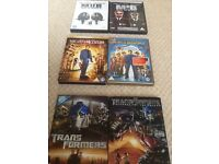DVDs - MIB, Night at Museum & Transformers