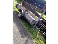 Trailer 8 1/2 ft x 5ft , Solid