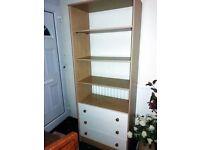 Bookshelf/display cabinet with Drawers