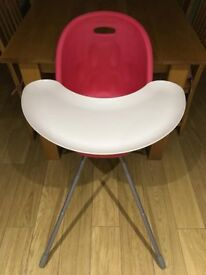 Phil & Teds Red Highchair
