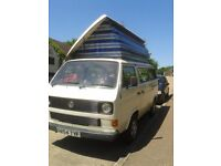VW T25 1989 Watercooled 1.9 Petrol Recommissioned Campervan