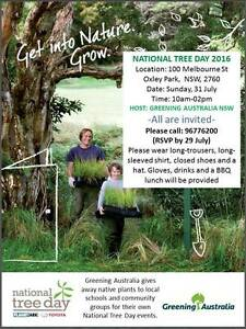 NATIONAL TREE DAY Oxley Park Penrith Area Preview