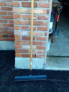 Garden Tools- pick axe and rake