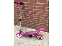 GIRL'S PINK SPACE SCOOTER EXCELLENT CONDITION AGE 8+ RRP £100