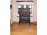 Warmlite Log stove fire