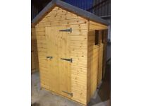 SALE: 7ft x 5ft Wooden Garden Shed