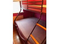 BUNK BED includes mattress/ COLLECTION ONLY