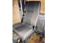 Rear seat van conversion