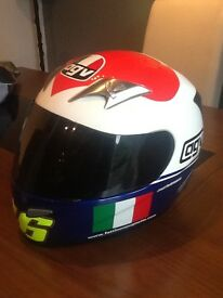 AGV Ti-Tech Motorcycle Helmet. Rossi Replica. Limited Edition