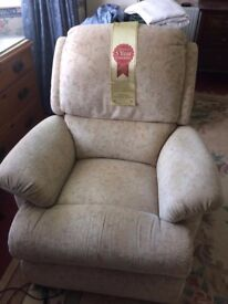 Leeks Tennyson Rose Reclining Chair Amesbury, Wiltshire £200