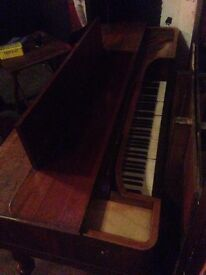 Square Piano in Need of Restoration