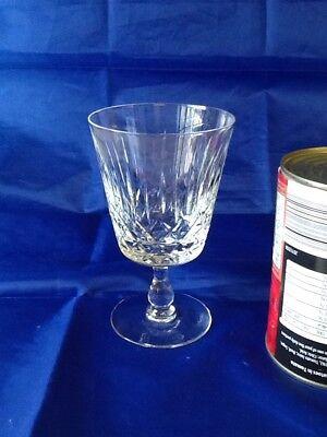 Edinburgh Crystal..Appin Pattern..White Wine Glass.. (Stamped On Base.)
