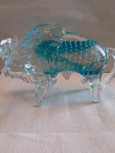 Gorgeous Murano Art Glass Buffalo