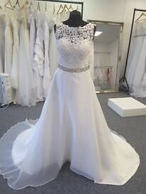 Brand new Wedding dresses from £150. available in sizes 6-30. made to measure