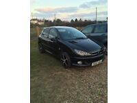FOR QUICK SALE Peugeot 206 '57 plate, manual, petrol.