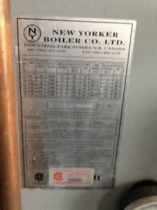 New Yorker Caprice furnace and boiler