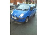 MATIZ 800CC LOW MILAGE CLEAN CAR SPARE OR REPAIR