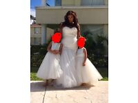 Wedding Dress Maggie Sottero Lacey size 14