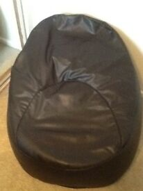 Gaming Pouffe. Brown in colour.