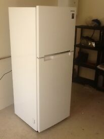 Samsung white upright fridge freezer