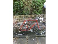 Falcon racing bike from the 80's. Rare frame. Made in England. 501 tubing
