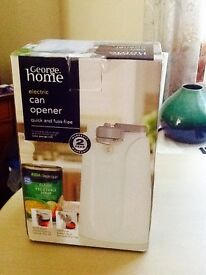 UNOPENED ,UNWANTED GIFT. ELECTRIC CAN/TIN OPENER .