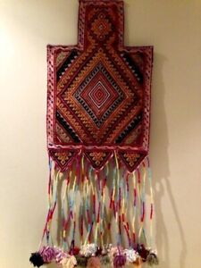 Tribal Afghan Salt Bag