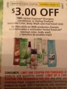 Herbal Essence Coupons $3