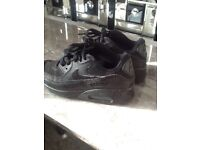 NIKE AIR MAX BLACK TRAINERS SIZE 13