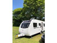 2014 Swift Challenger 586 SE 6 berth Fixed Single Beds Touring Caravan