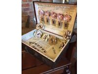 Antique case, Reconditioned For Use At Weddings Using Authentic Vintage Music Paper