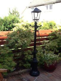 Ornamental lamppost