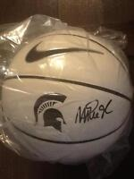 Reduced Price 'MAGIC' Johnson Autograph MSU Nike B-ball - COA