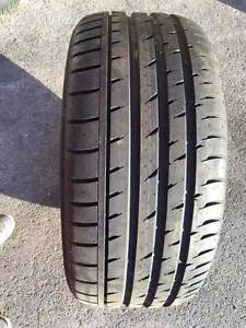255/35 ZR19 Continental ContiSportContact3 Tyre x 1 St Marys Penrith Area Preview