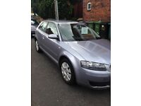 AUDI A3 2005 1.6 Special Edition 3 Dr Manual - 7 MONTHS MOT!