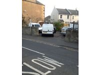Esbank Midlothian maisonette flat with large driveway with double garages for sale