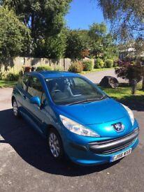 Peugeot 207 1.4S Blue 3 Door Hatchback