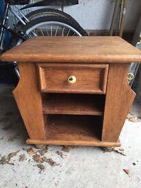 Art Deco style bedside drawer unit