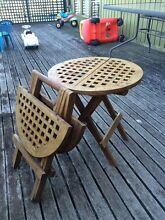 Fold-up Timber Tables Elanora Heights Pittwater Area Preview