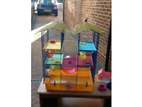 3 Level Hamster Activity Cage