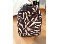 Domo animal print cabin case.quality item in excellent condition