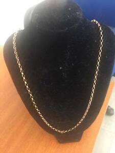 LADIES 9CT YELLOW GOLD NECKLACE Cessnock Cessnock Area Preview